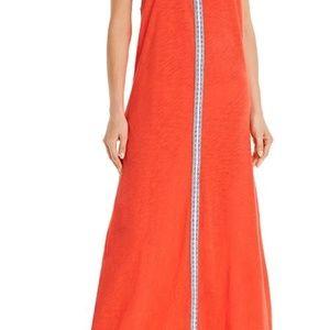 Pitusa Cover-Ups Maxi Dress in Blood Orange
